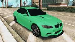 BMW M3 E92 Green Coupe для GTA San Andreas