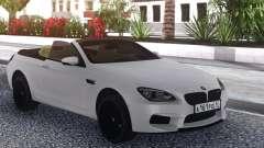 BMW M6 Cabrio White для GTA San Andreas