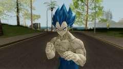 Vegeta Super Sayayin Blue Damaged для GTA San Andreas