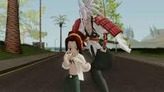 Yoh Asakura and Amidamaru