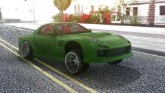 Mazda RX-7 Green Drift для GTA San Andreas