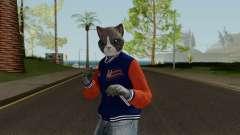 GTA Online Random Skin 7 Lonedigger Cat для GTA San Andreas