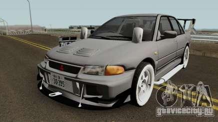 Mitsubishi Lancer Evolution III Deuce для GTA San Andreas