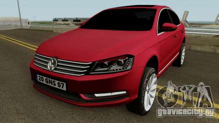 Volkswagen Passat B7 2014 для GTA San Andreas