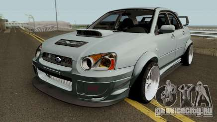 Subaru Impreza WRX STI Custom для GTA San Andreas