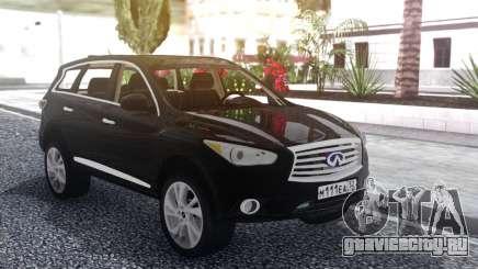 Infiniti JX 35 2013 Lifted для GTA San Andreas