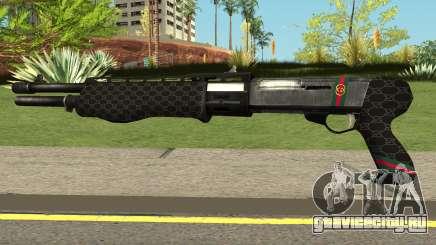 Shotgun Gucci для GTA San Andreas