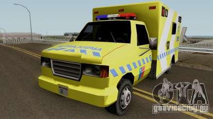 SAMU Ambulance для GTA San Andreas
