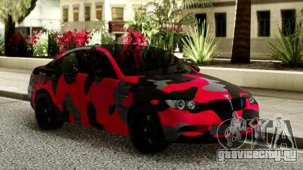 BMW M3 CAMO для GTA San Andreas
