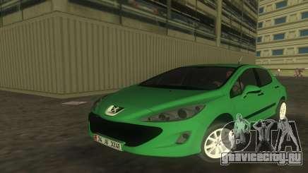 2010 Peugeot 308 для GTA Vice City