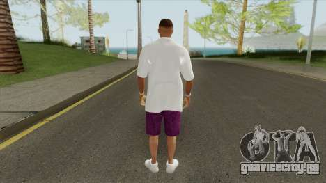 New Ballas Skin V1 (HD) для GTA San Andreas