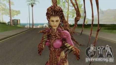 Infested Kerrigan (StarCraft 2) для GTA San Andreas
