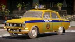 AZLK 2140 Police для GTA 4