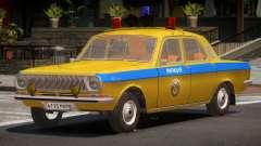 GAZ 24-01 Volga Police для GTA 4