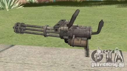 Minigun (HD) для GTA San Andreas