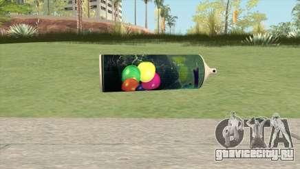 Spray Can (HD) для GTA San Andreas