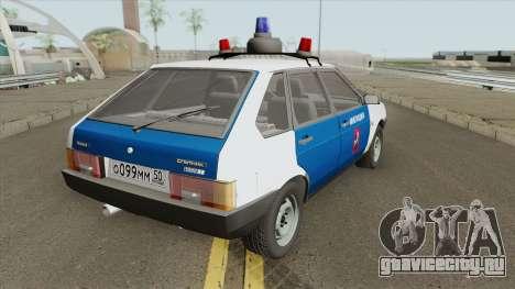 ВАЗ 2109 ГАИ для GTA San Andreas