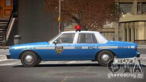 Chevrolet Impala NYC Police 1984 для GTA 4
