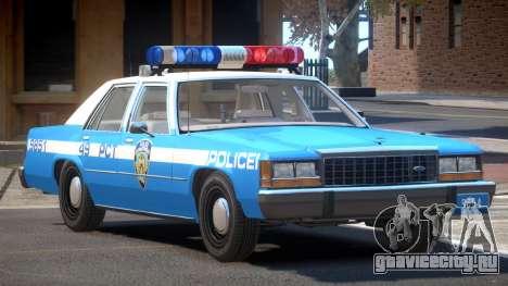 Ford LTD Crown Victoria NYC Police 1986 для GTA 4