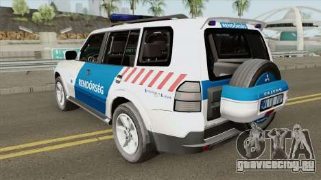 Mitsubishi Pajero (Magyar Rendorseg) для GTA San Andreas