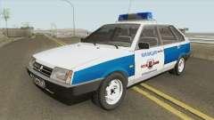 ВАЗ 2109 (Муниципальная Милиция) для GTA San Andreas