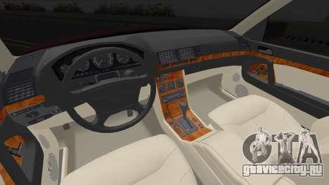Mercedes-Benz S600 w140 Brabus для GTA San Andreas