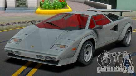 Lamborghini Countach LP400S 1978 (IVF) для GTA San Andreas