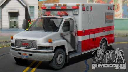GMC C5500 Topkick 2008 Ambulance для GTA San Andreas