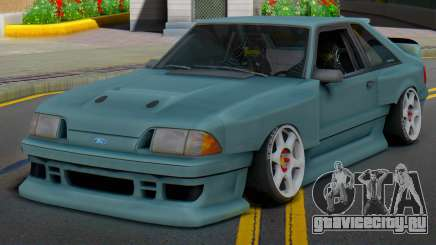 Ford Foxbody Wickedz Edition для GTA San Andreas