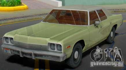 Dodge Monaco 1974 (Civil) для GTA San Andreas