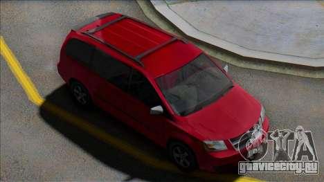 Dodge Grand Caravan 2009 MY для GTA San Andreas