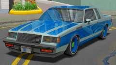 Buick GNX 1987 Lowrider для GTA San Andreas