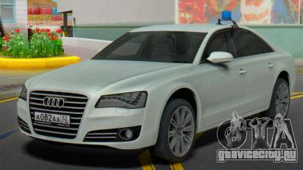 Audi A8 2013 Администрация области для GTA San Andreas