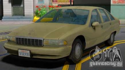 Chevrolet Caprice 1991 MY для GTA San Andreas