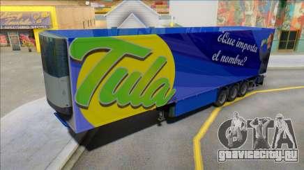 Прицеп Напиток Tula для GTA San Andreas