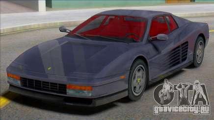 Ferrari Testarossa 1984 (IVF) для GTA San Andreas