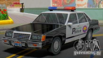 Ford LTD LX 1985 (VCPD) для GTA San Andreas
