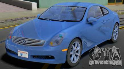 Infiniti G35 SA Plates для GTA San Andreas