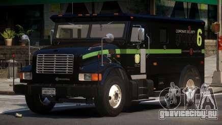 Navistar International 4700 Bank Armored Truck для GTA 4