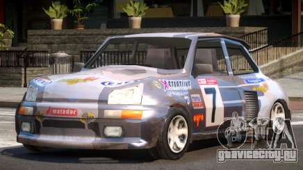 Rally Car from Trackmania PJ2 для GTA 4