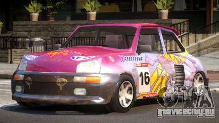Rally Car from Trackmania PJ4 для GTA 4