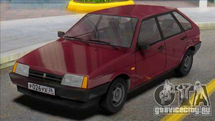 ВАЗ-2109 Russian Plates для GTA San Andreas