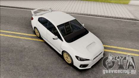 Subaru Impreza WRX STI 2017 Lowpoly для GTA San Andreas
