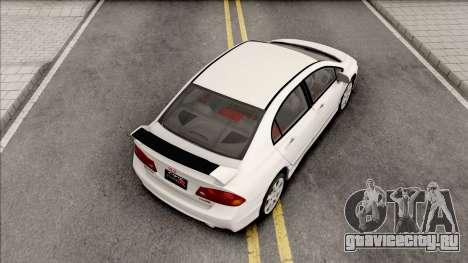Honda Civic FD2 Type R для GTA San Andreas