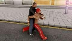 Ride on Pedestrians для GTA San Andreas