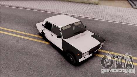 ВАЗ 2107 Georgi Style для GTA San Andreas