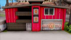 Manchester United House of Fans для GTA San Andreas