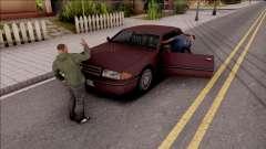 Insult Ped для GTA San Andreas