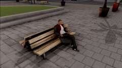 New Sit Animation для GTA San Andreas