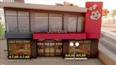 Jollibee Store Las Venturas для GTA San Andreas